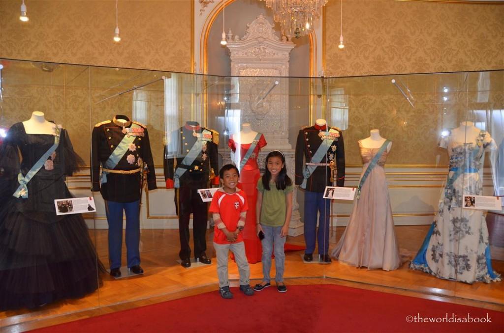 Amalienborg Palace costume gallery