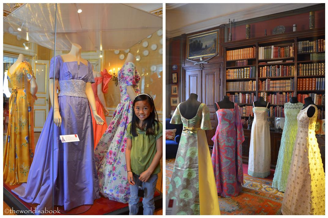 Amalienborg Palace royal dresses