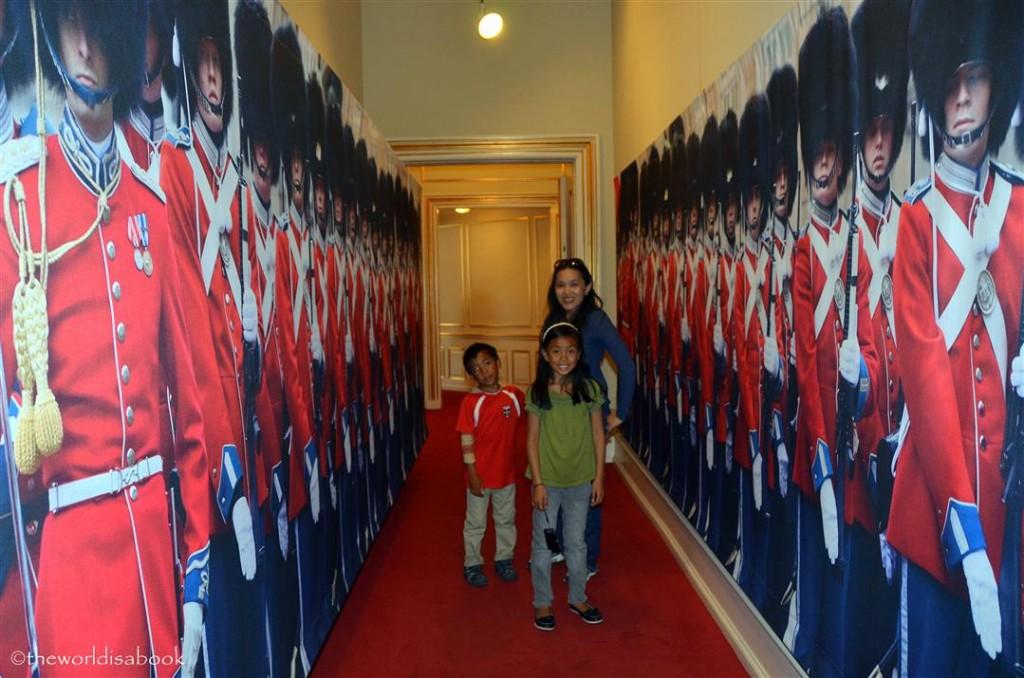Amalienborg Palace guard wall