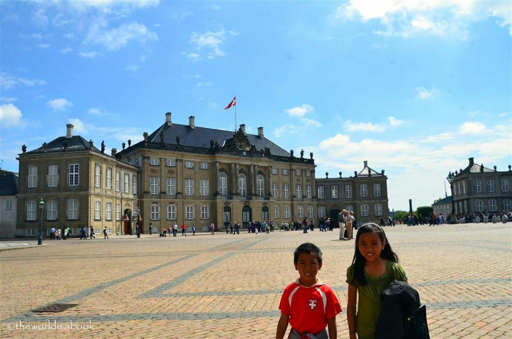 Amalienborg Palace Copenhagen Denmark