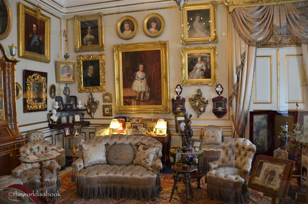 Amalienborg palace Queen Louise's lounge