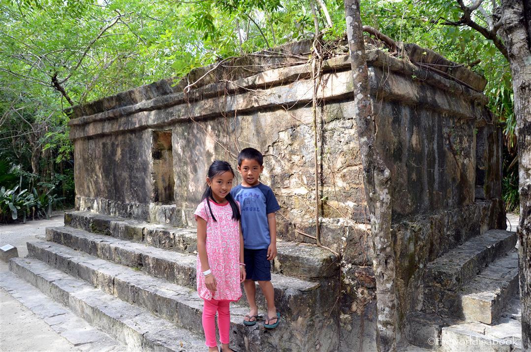 Chankanaab Mayan ruins