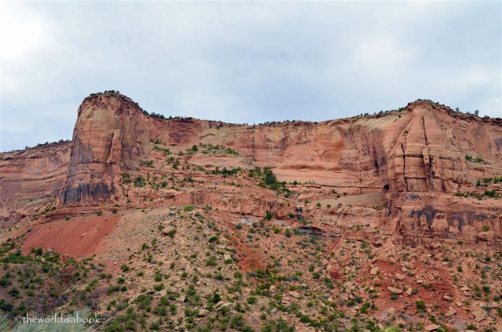 Colorado National Monument red cliff