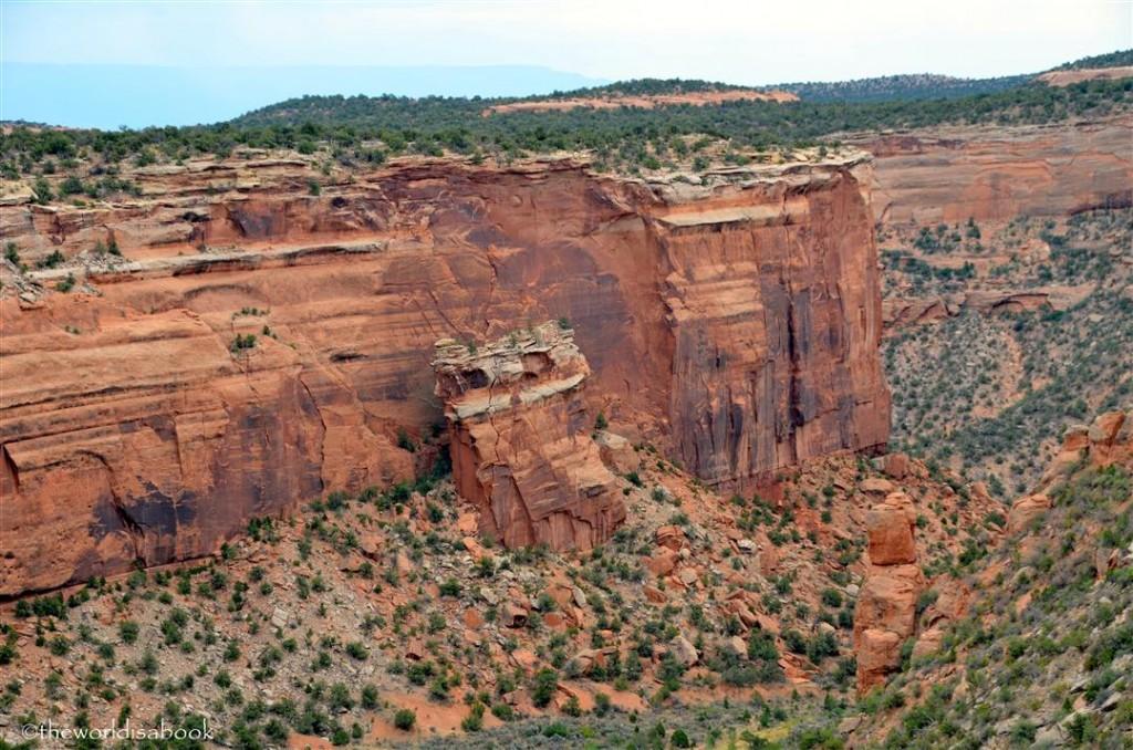 Colorado national Monument Fallen Rock