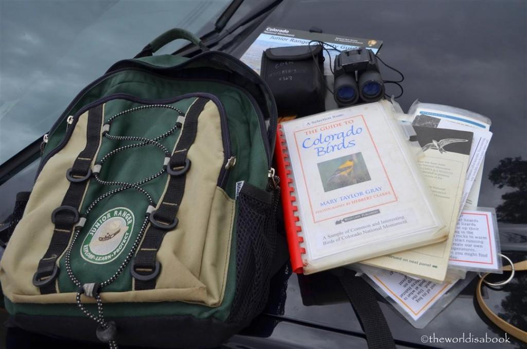 Colorado national Monument Junior Ranger Explorer Backpack