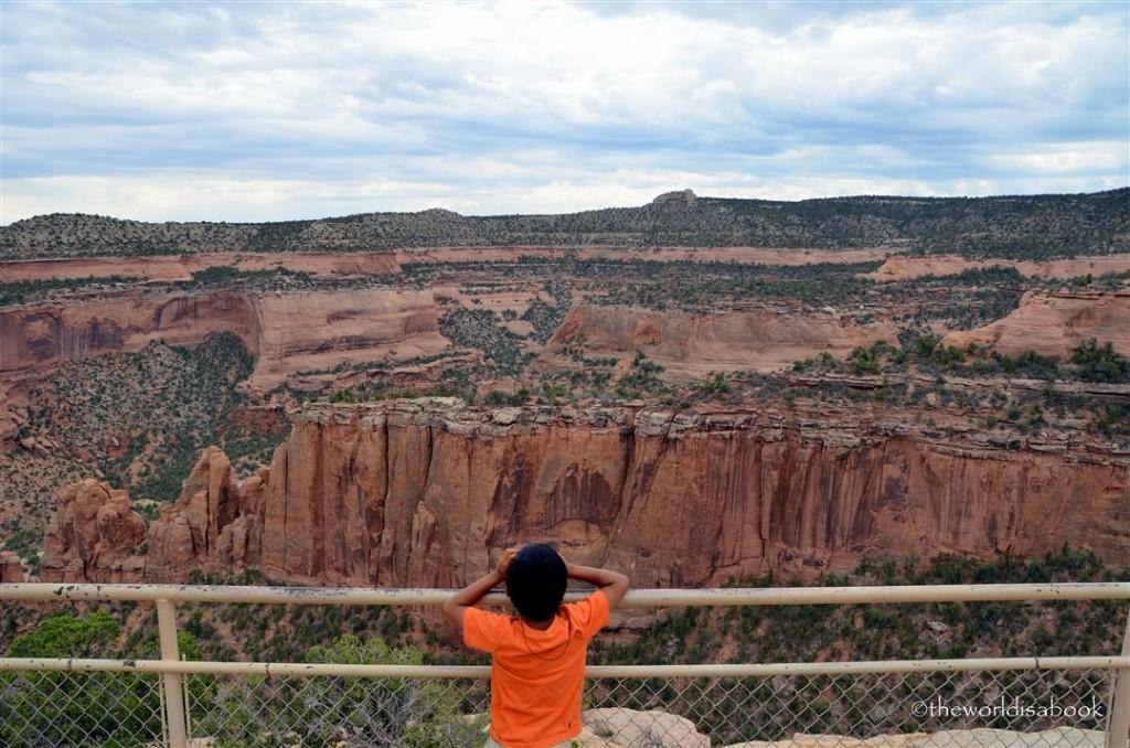 Colorado national Monument cliffs
