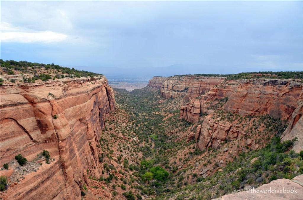 Colorado national Monument red Canyon