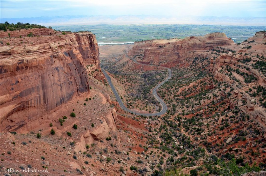 Colorado national Monument rim rock drive