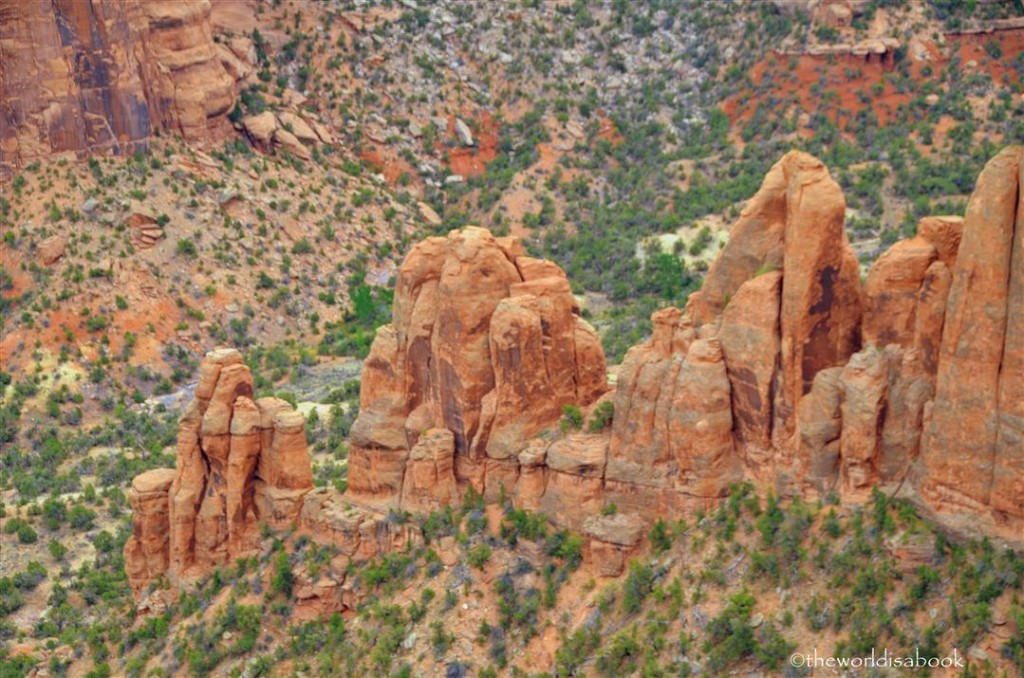 Colorado national Monument rock formations