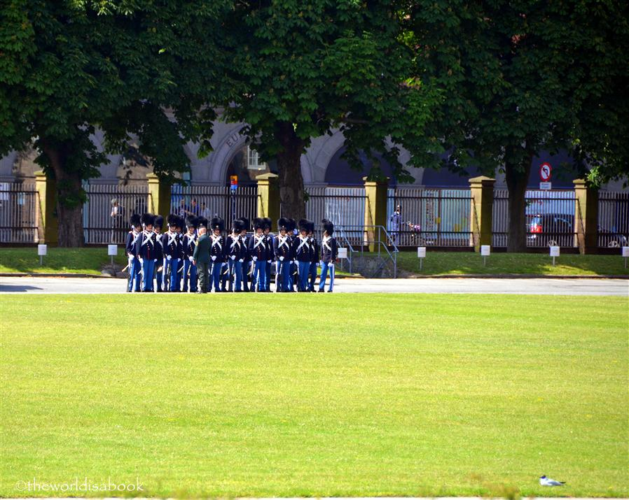 Danish Royal Guards at Rosenborg Castle