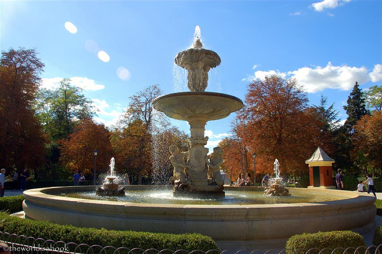El retiro fountain