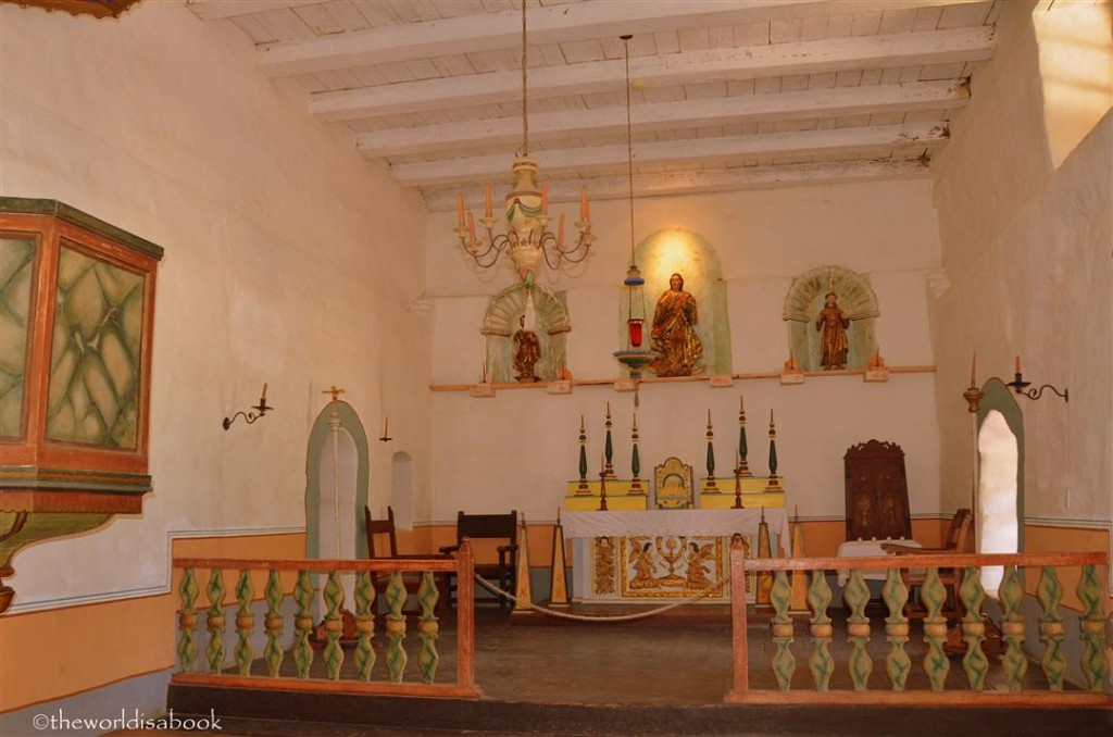 Mission La Purisima chapel