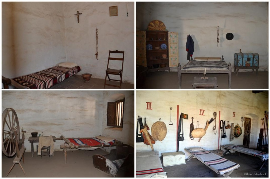 Mission La Purisima rooms and quarters
