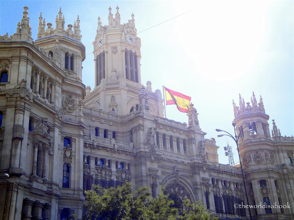Madrid Old post office