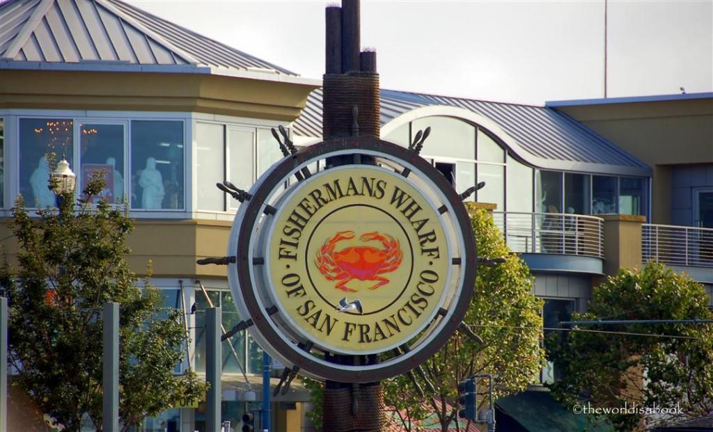 San Francisco Fiesherman's Wharf sign