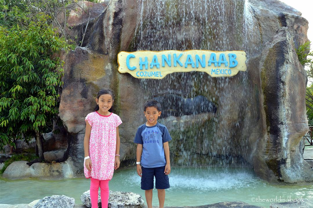 chankanaab national park sign