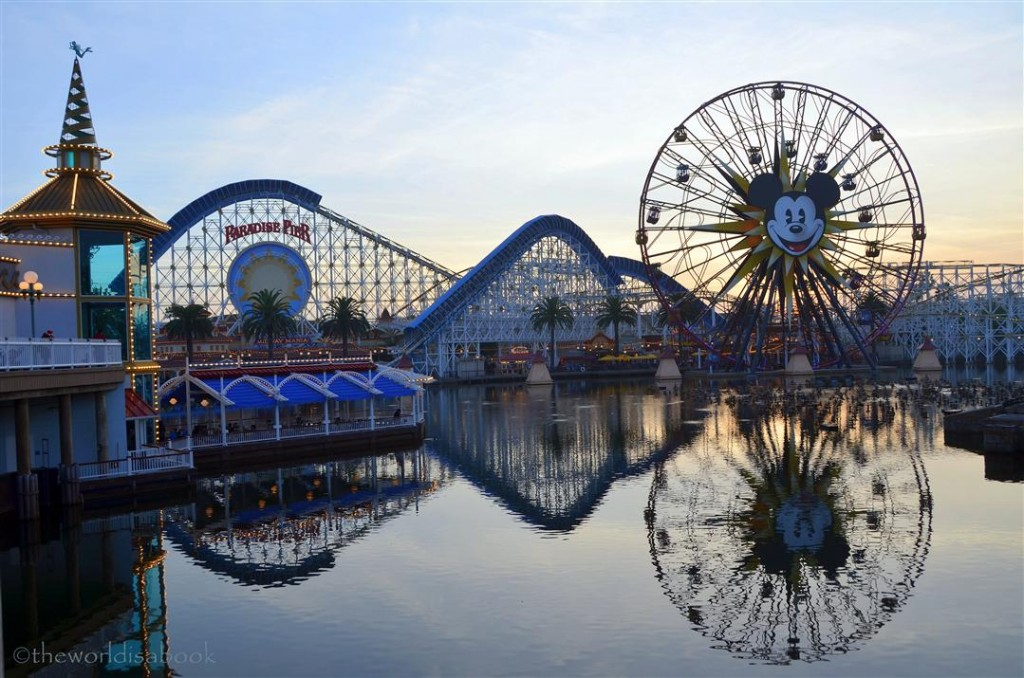 California Adventure Mickey funwheel
