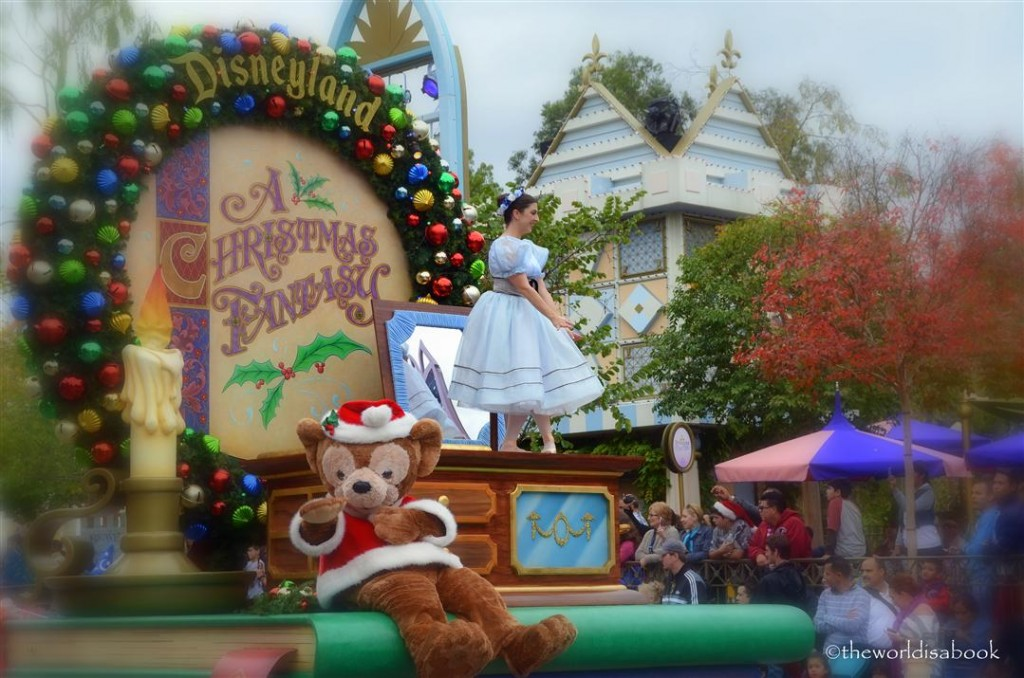 Disneyland Christmas Fantasy Parade