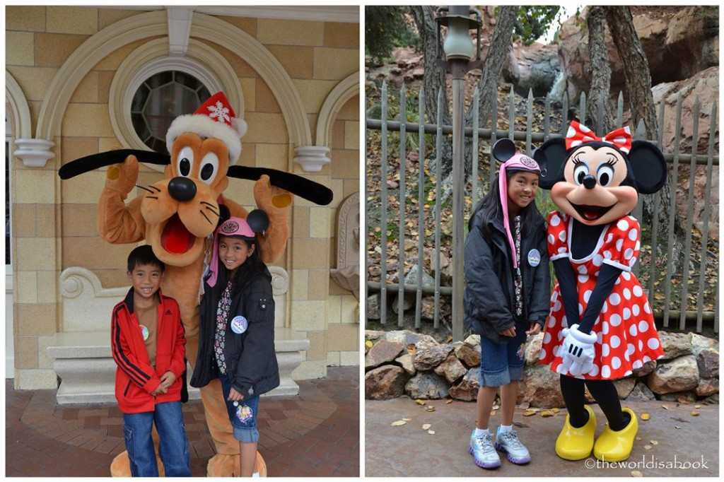 Disneyland Holiday Pluto Minnie Mouse