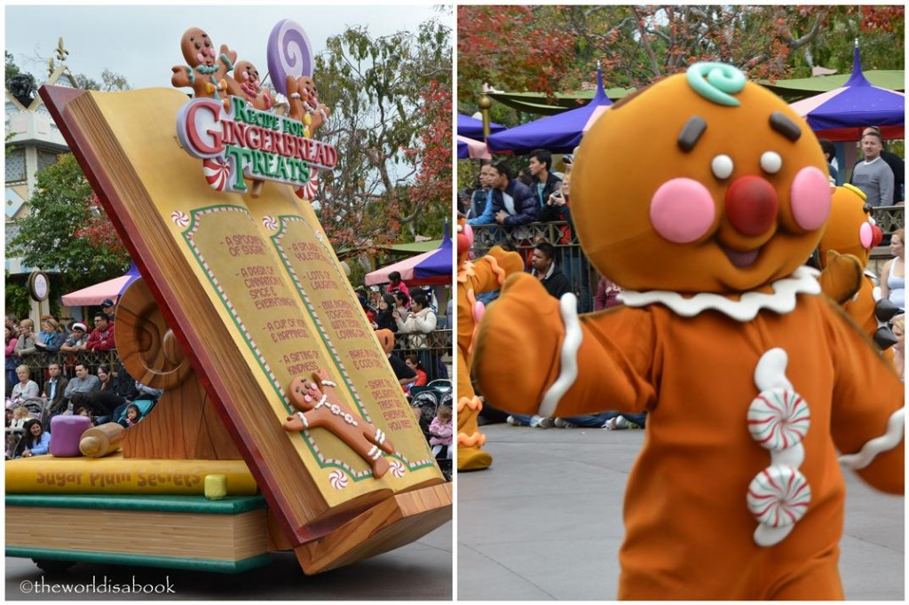 Disneyland Holiday Parade Gingerbread