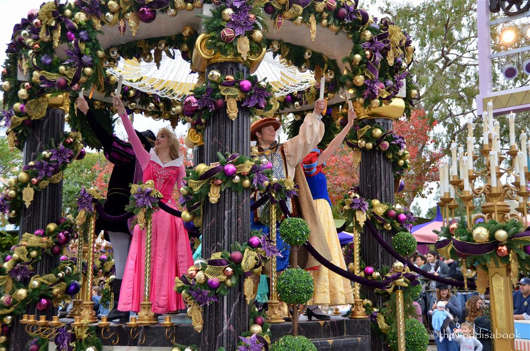 Disneyland Holiday Parade Princess