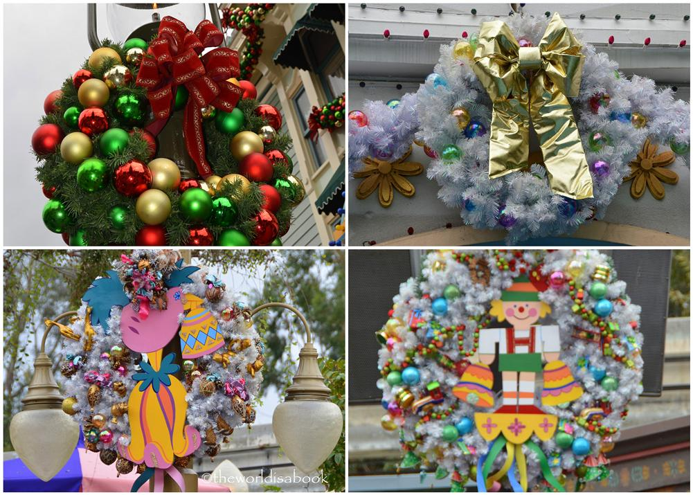 Disneyland Holiday Wreaths