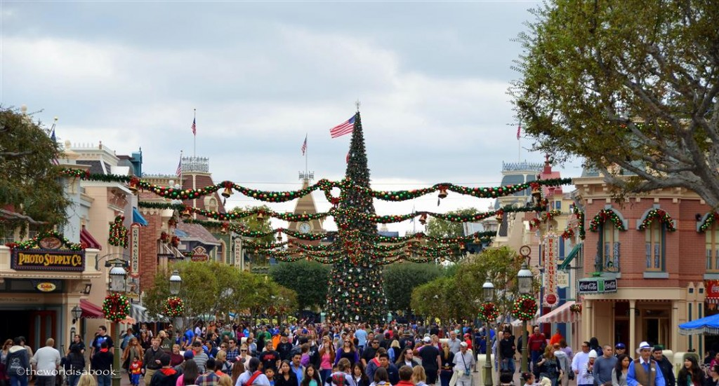 Disneyland Main Street Holiday