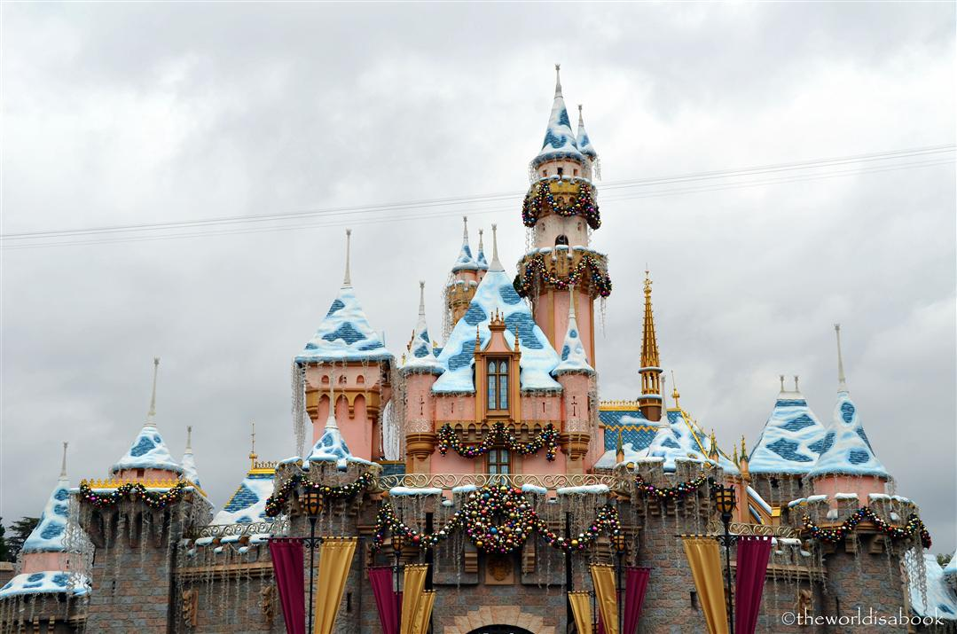Disneyland Sleeping Beauty Castle Holiday