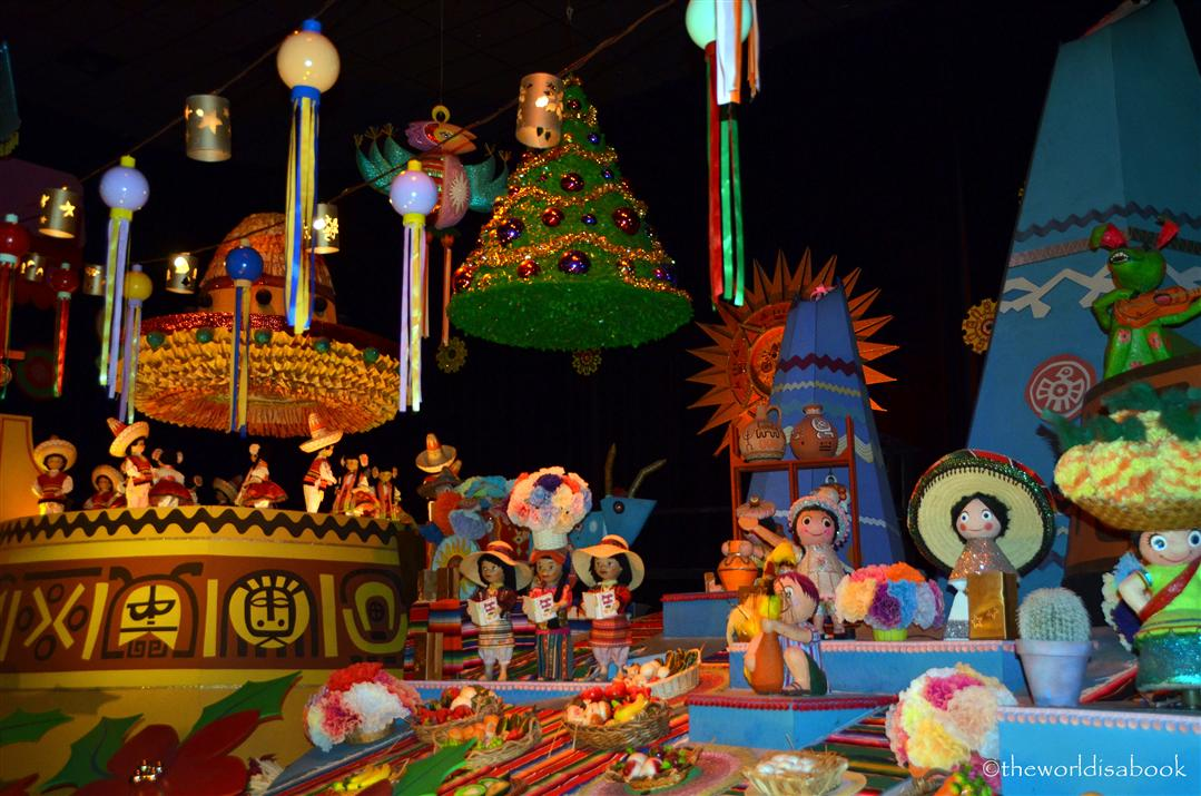 Disneyland Small World Mexico Holiday