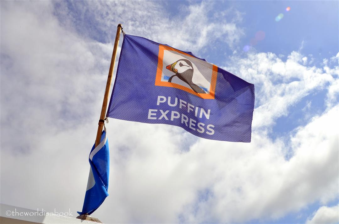 Puffin Express Flag