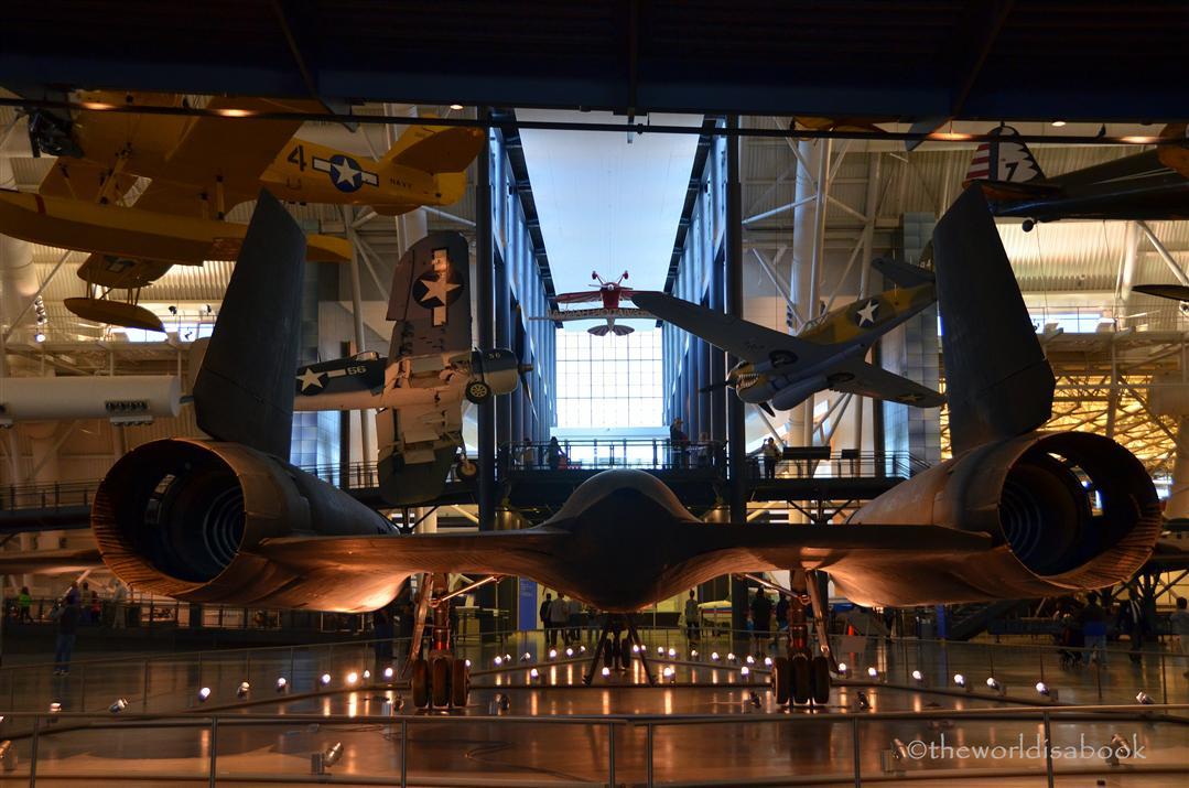 Udvar Hazy Center SR-71 Blackbird
