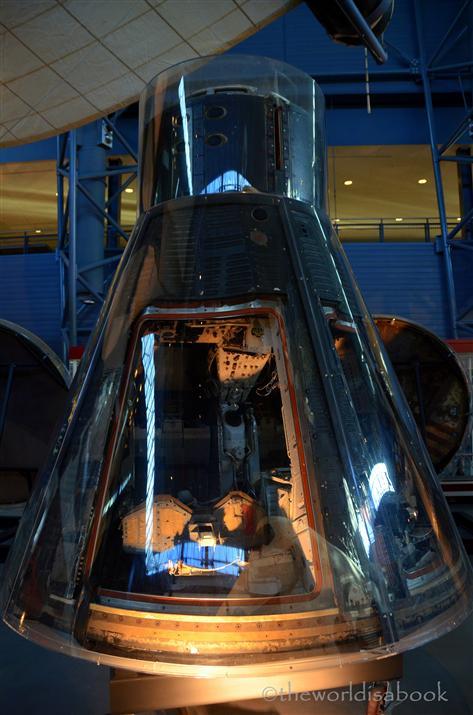 Udvar Hazy Center Gemini VII space capsule