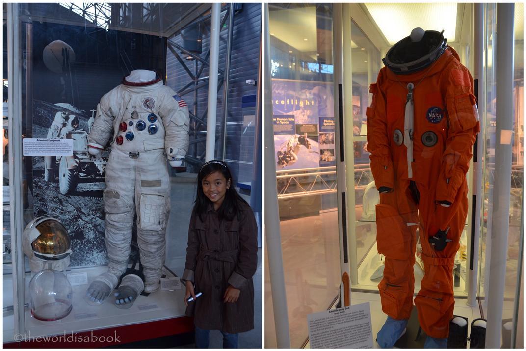 Udvar Hazy Center astronaut suits