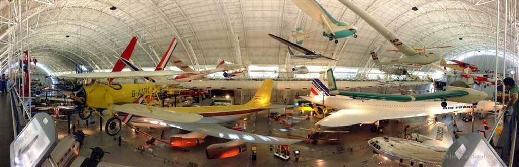 Udvar Hazy Center hangar