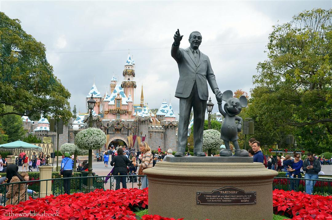 Walt Disney Partners statue