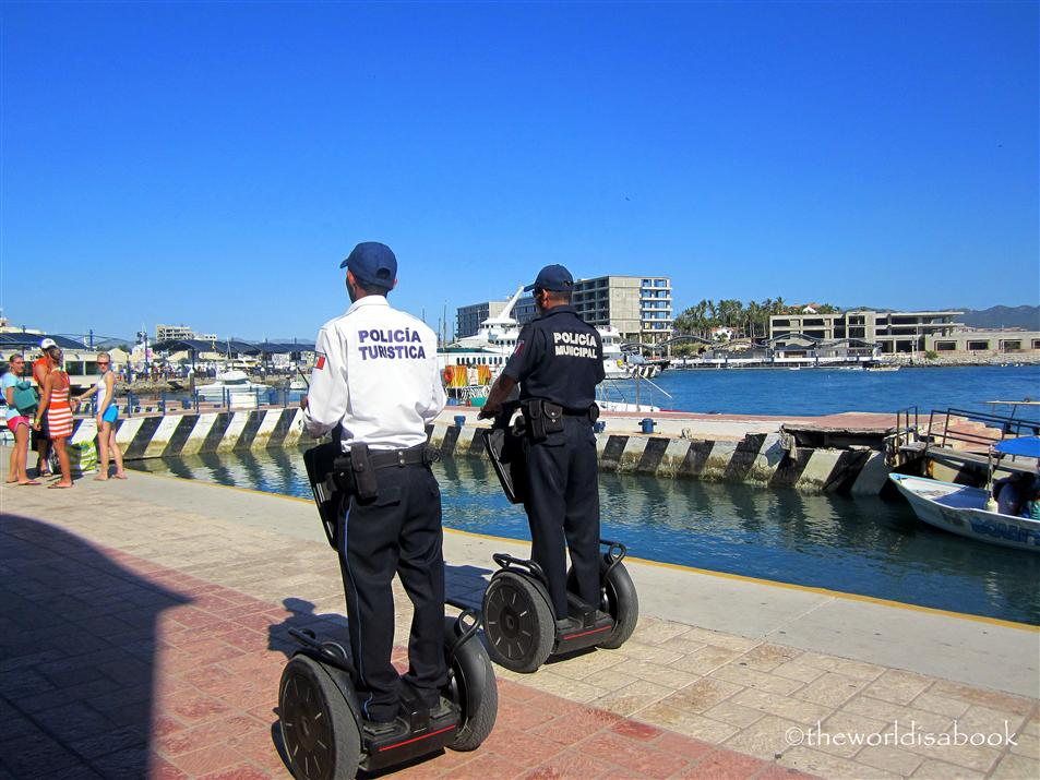 Cabo San lucas police on segway