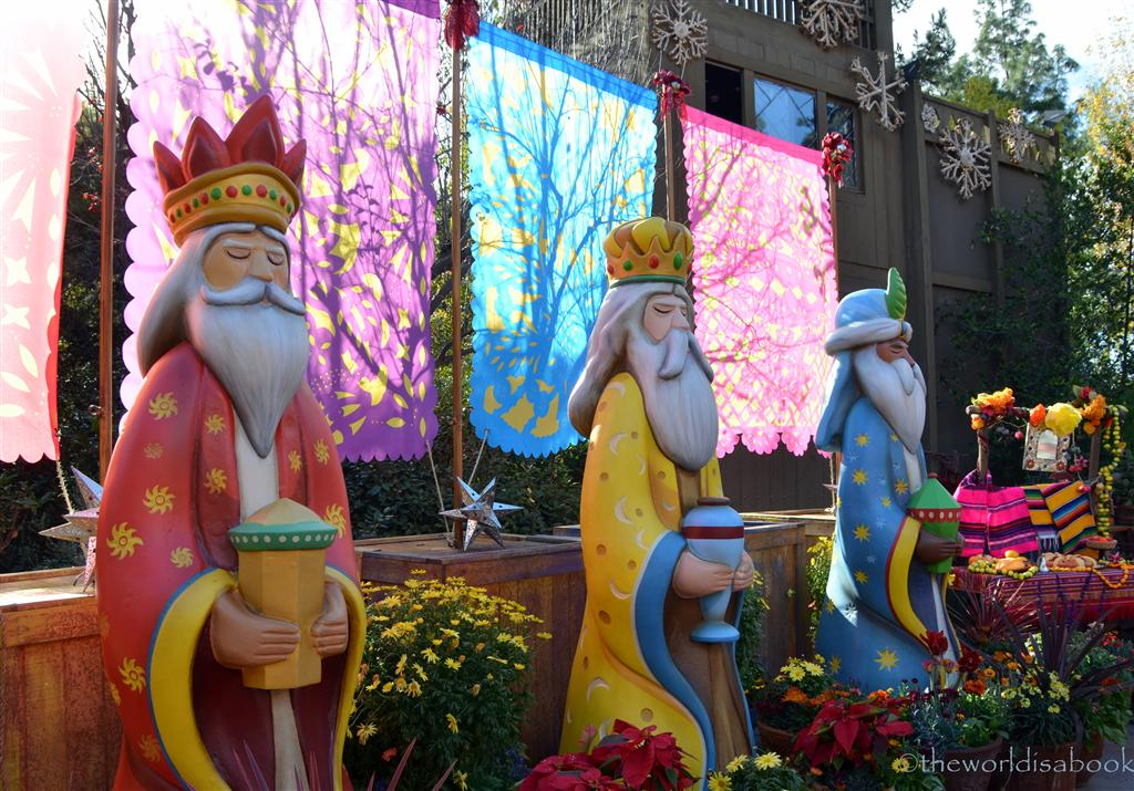 Disneyland Dia de Reyes three kings