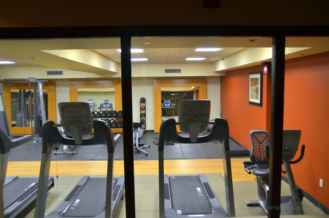 Doubletree Colorado Springs fitness