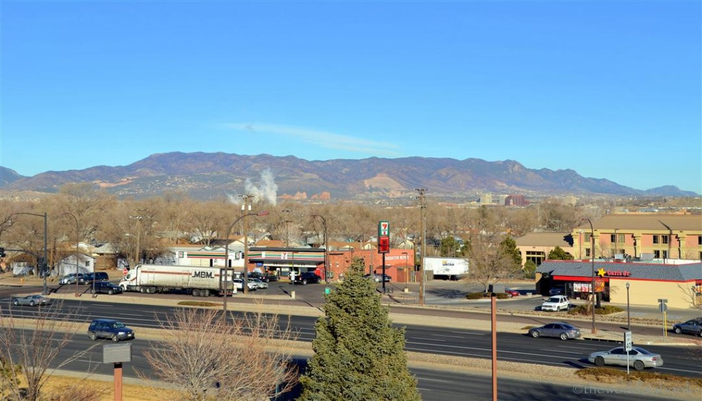 Doubletree Colorado Springs view