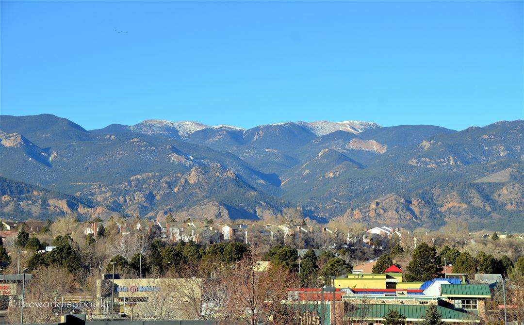 Doubletree Colorado Springs Cheyenne mountains