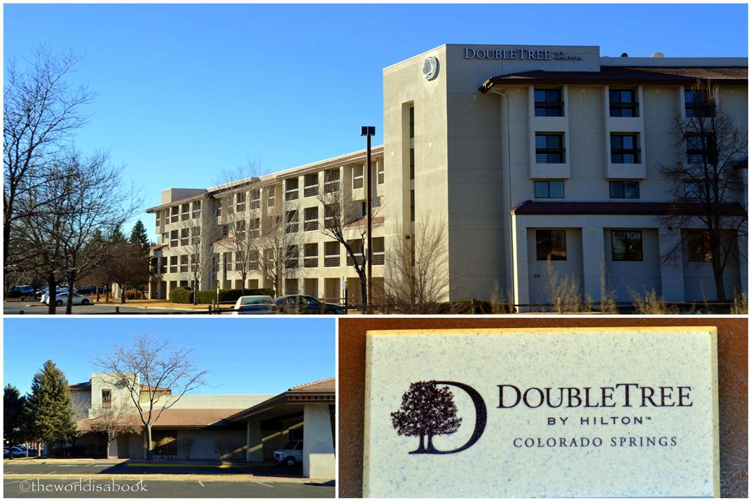 Doubletree hotel Colorado Springs