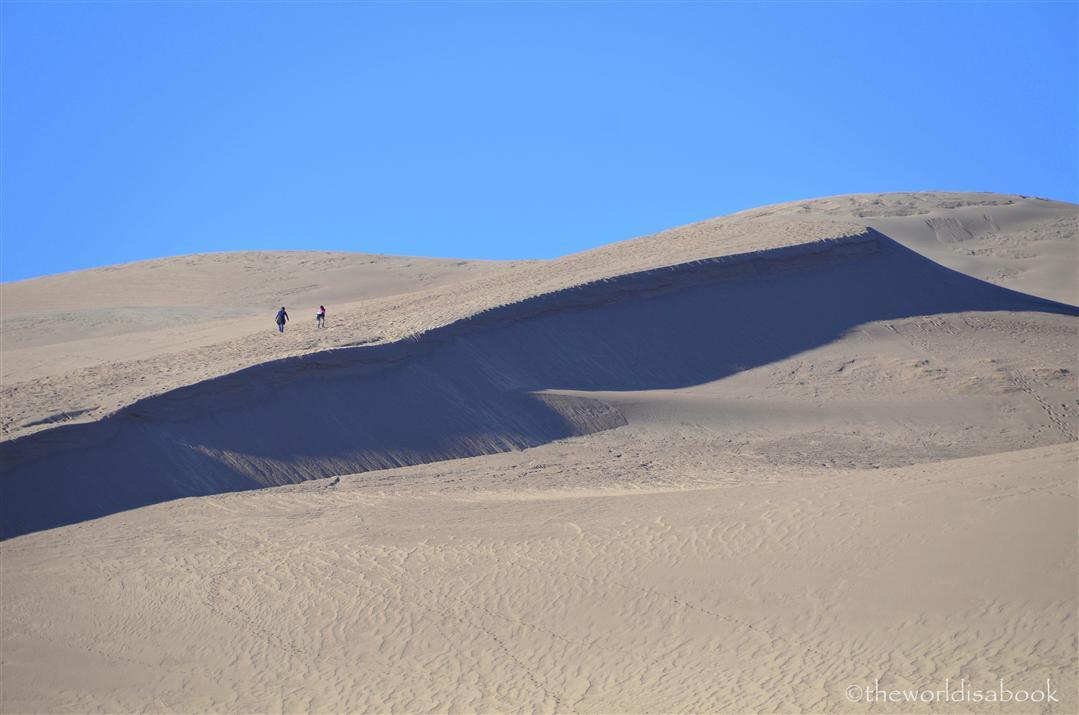 Great Sand Dune climb