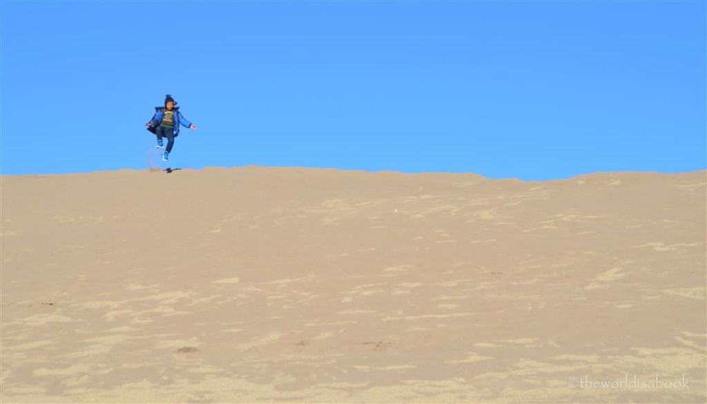 Great sand Dunes Jump