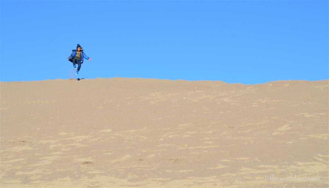 Great sand Dunes Jump