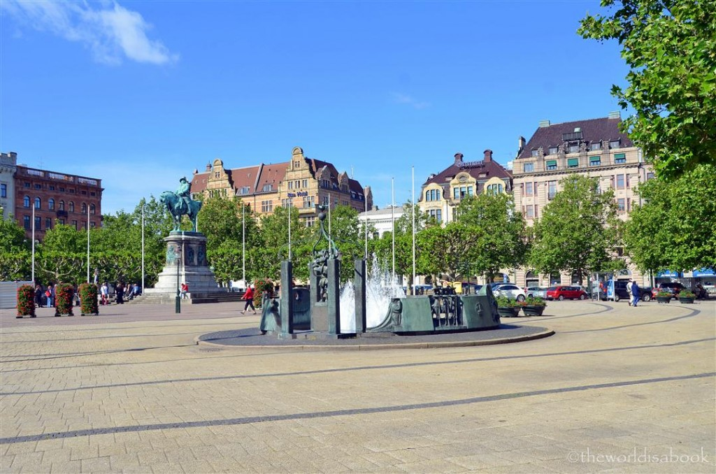Malmo Great Square Stortorget