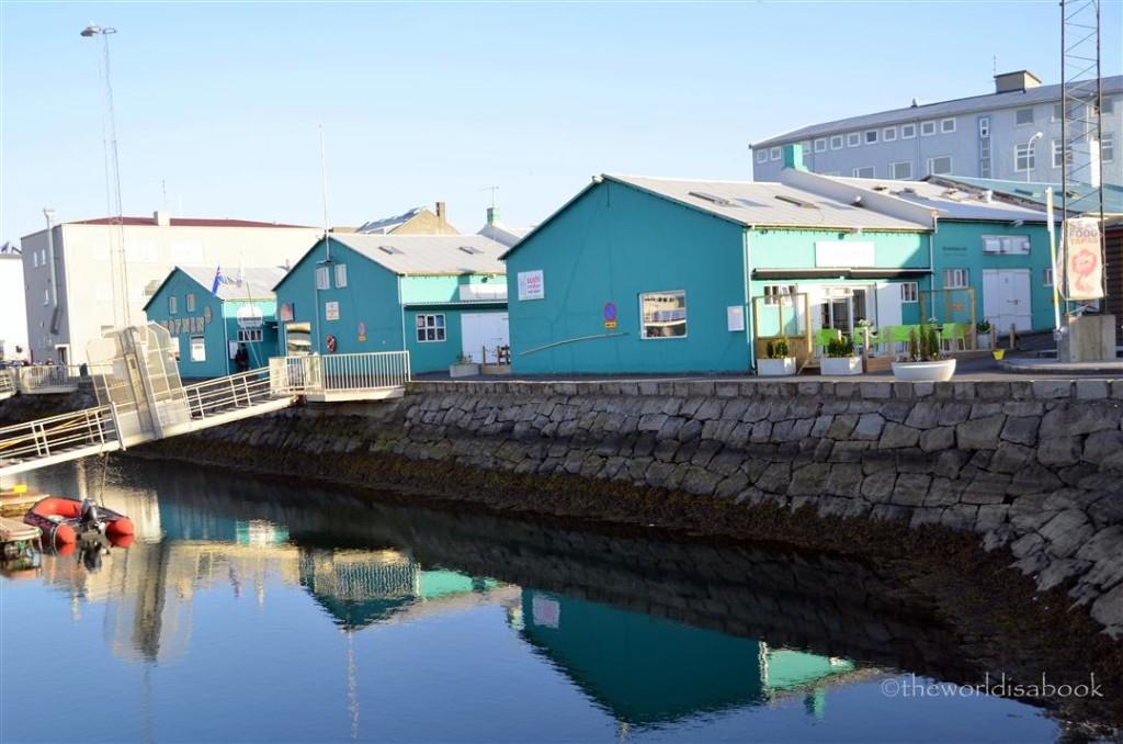 Reykjavik old harbour