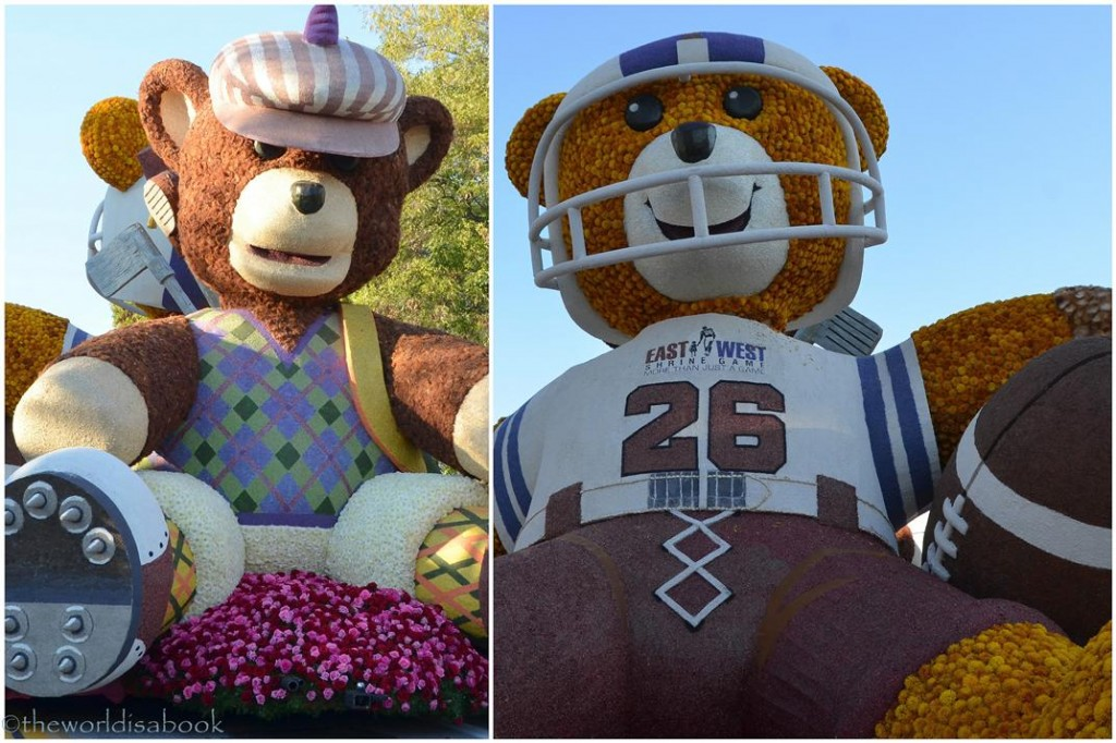 Rose Parade Float 2013 Bears