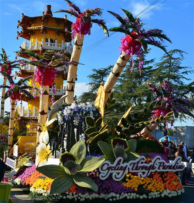 Rose Parade Float 2013 China Airlines