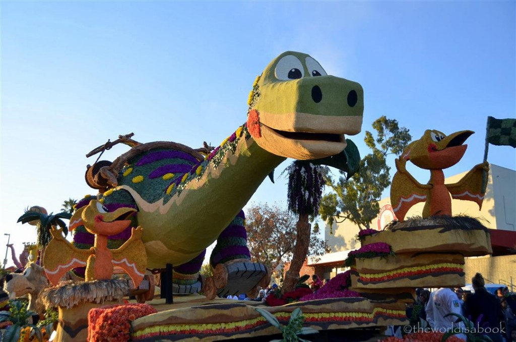 Rose Parade Float 2013 Dinosaur