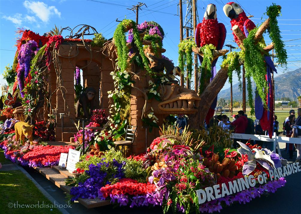 Rose Parade Float 2013 Dole